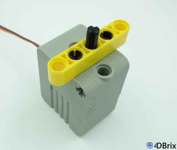 Lego compatible bricks for arduino technic