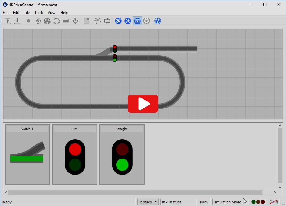 4DBrix - nControl - Configure Track Switches