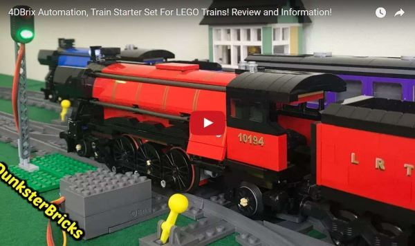 Lego Train Monorail Automation 4DBrix Review Dunkster