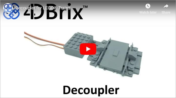4DBrix Decoupler for LEGO® Trains