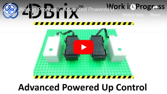 4DBrix - Advanced LEGO Powered Up Control