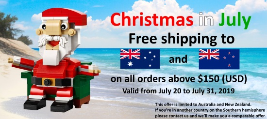 4DBrix Christmas in July promotion