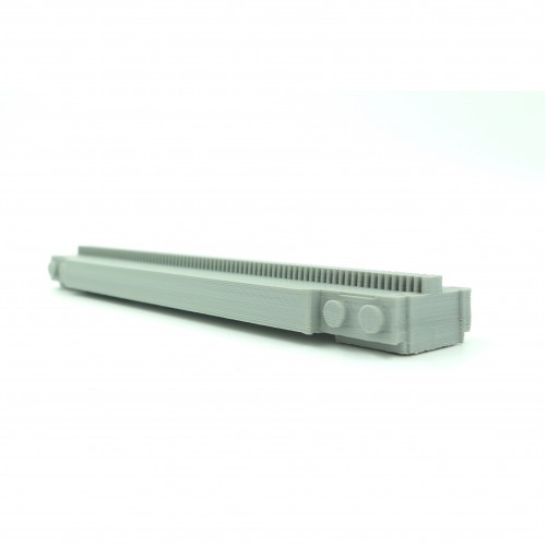 Monorail Full Straight Track - Light Gray