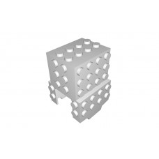 Monorail Motor Cover - 68 studs - Light Gray