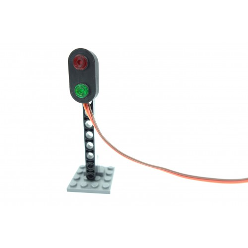 Monorail Quad Traffic Light Controller - Light Gray