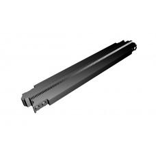 Monorail Straight Diagonal Track - Black