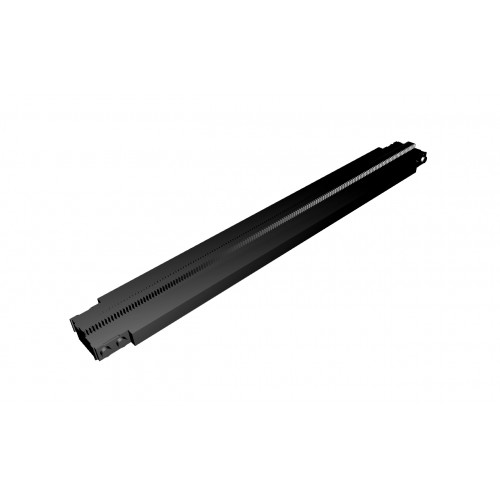 Monorail Full Straight Track  - Black