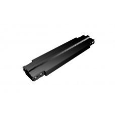 Monorail Half Straight Track - Black
