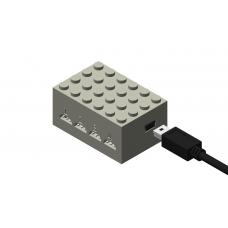 Monorail Quad Sensor Controller - Light Gray