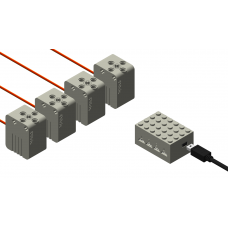 Automation Switch Set For LEGO Monorail Layout