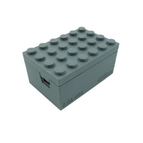 Train Quad Switch Controller - Dark Bluish Gray
