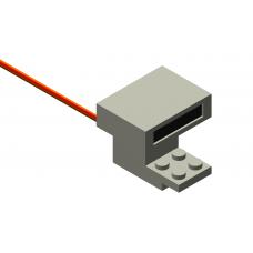 IR Train Detector - Light Gray