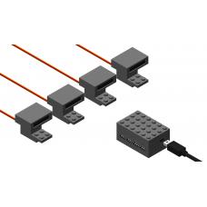Automation Train Detection Set - Dark Bluish Gray