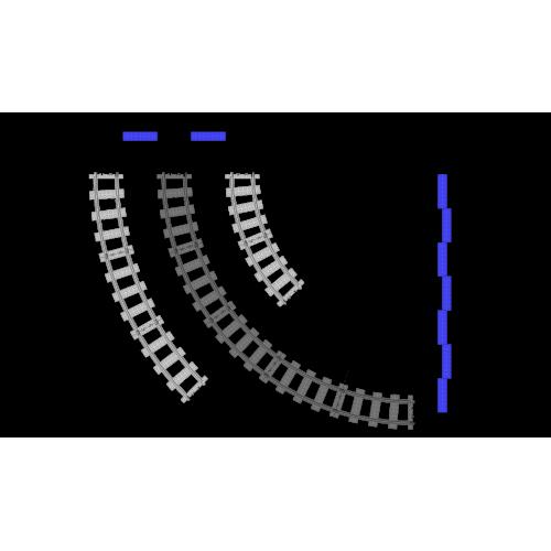 R56 Curves - 5 Pieces