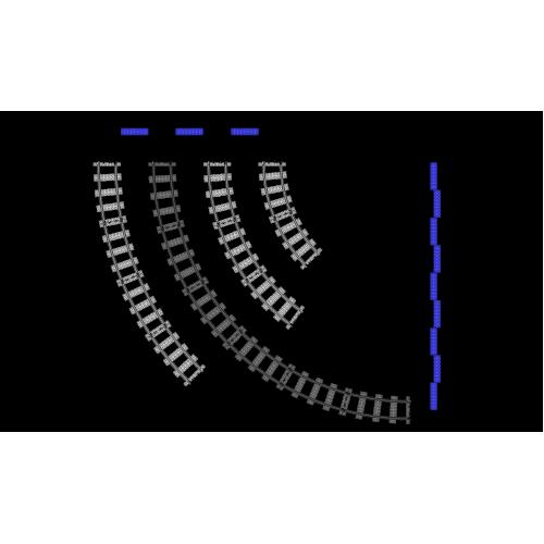 R72 Curves - 6 Pieces