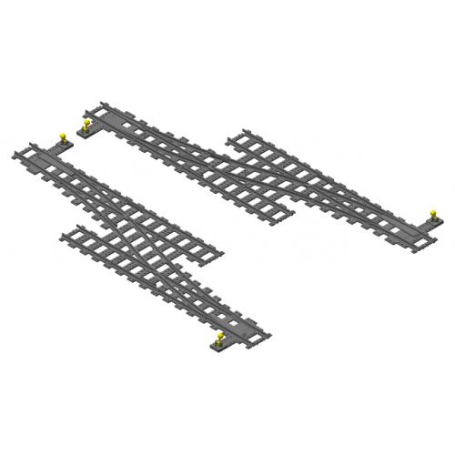 Ultimate Railroader™ - Single Crossover