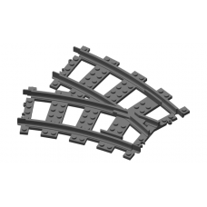 Curve Divergent Track - Left Turn (#53)